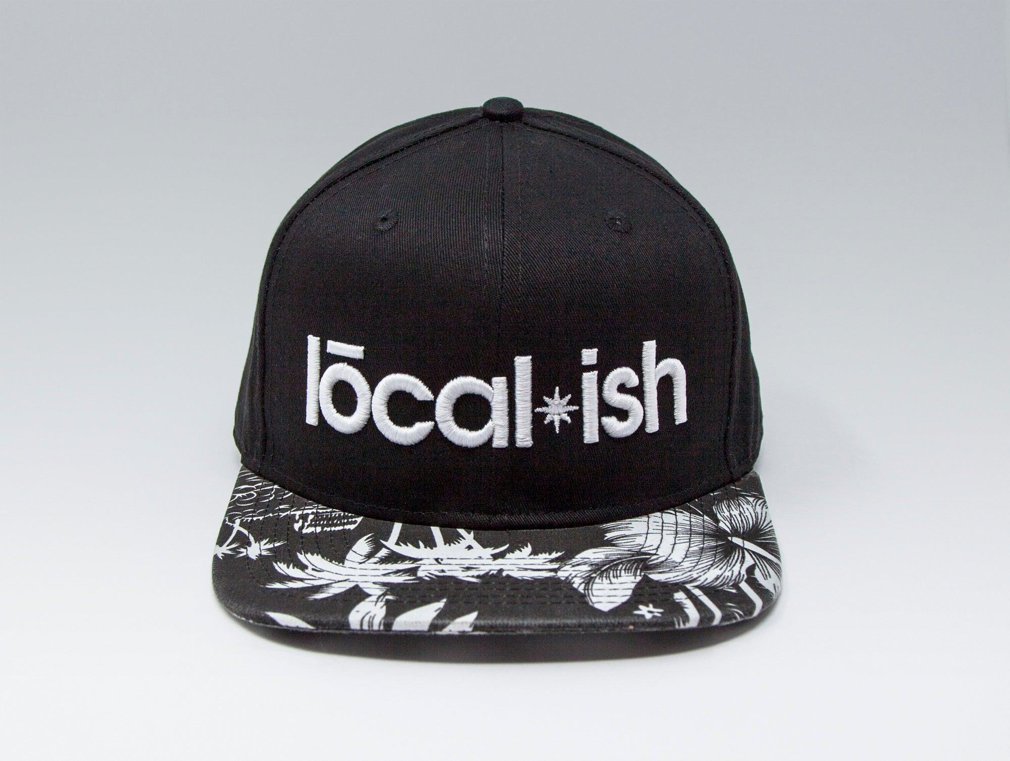 Localish Classic Snapback Hat - Palm Trees - center