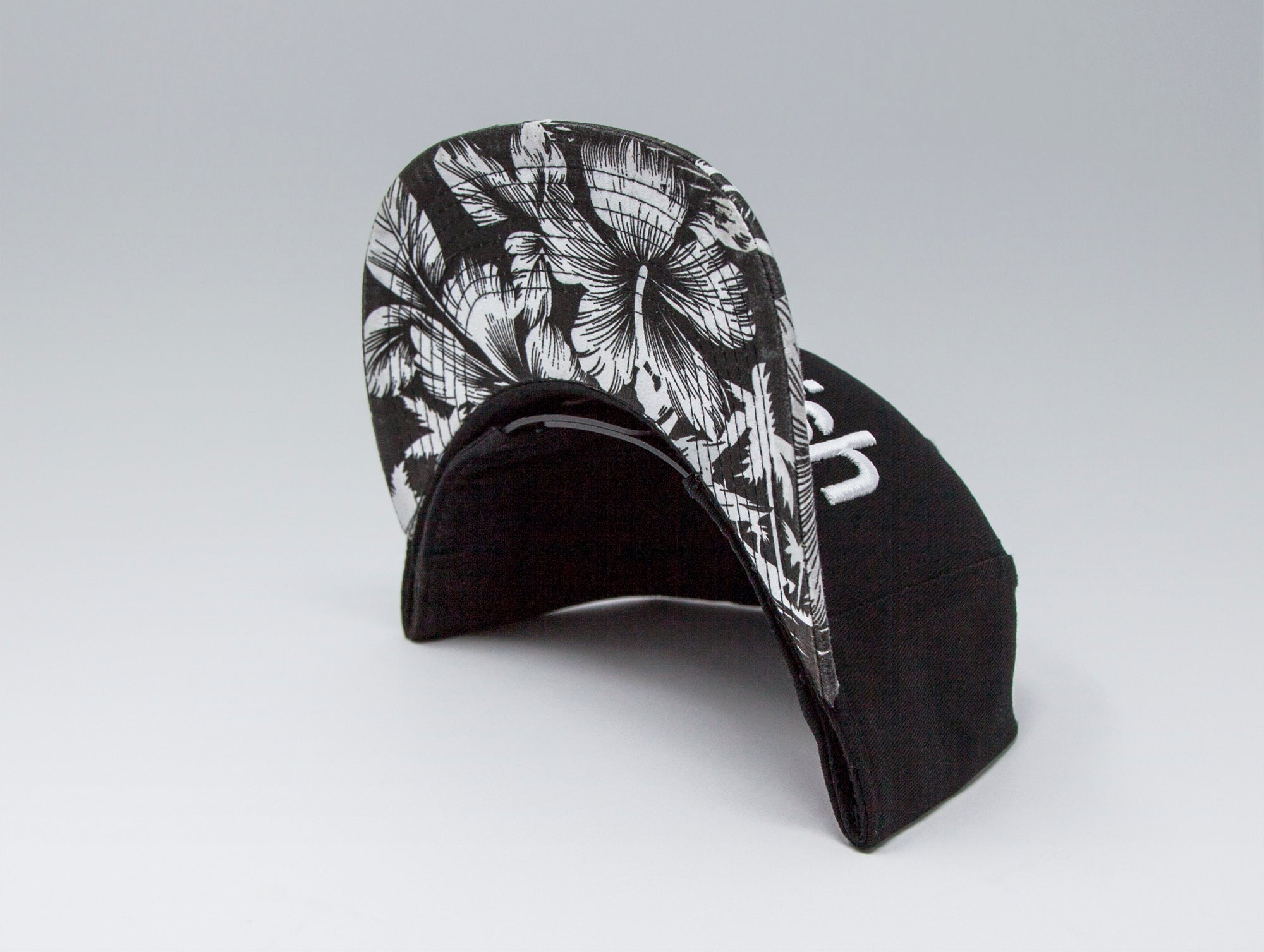 Localish Classic Snapback Hat - Palm Trees - bill
