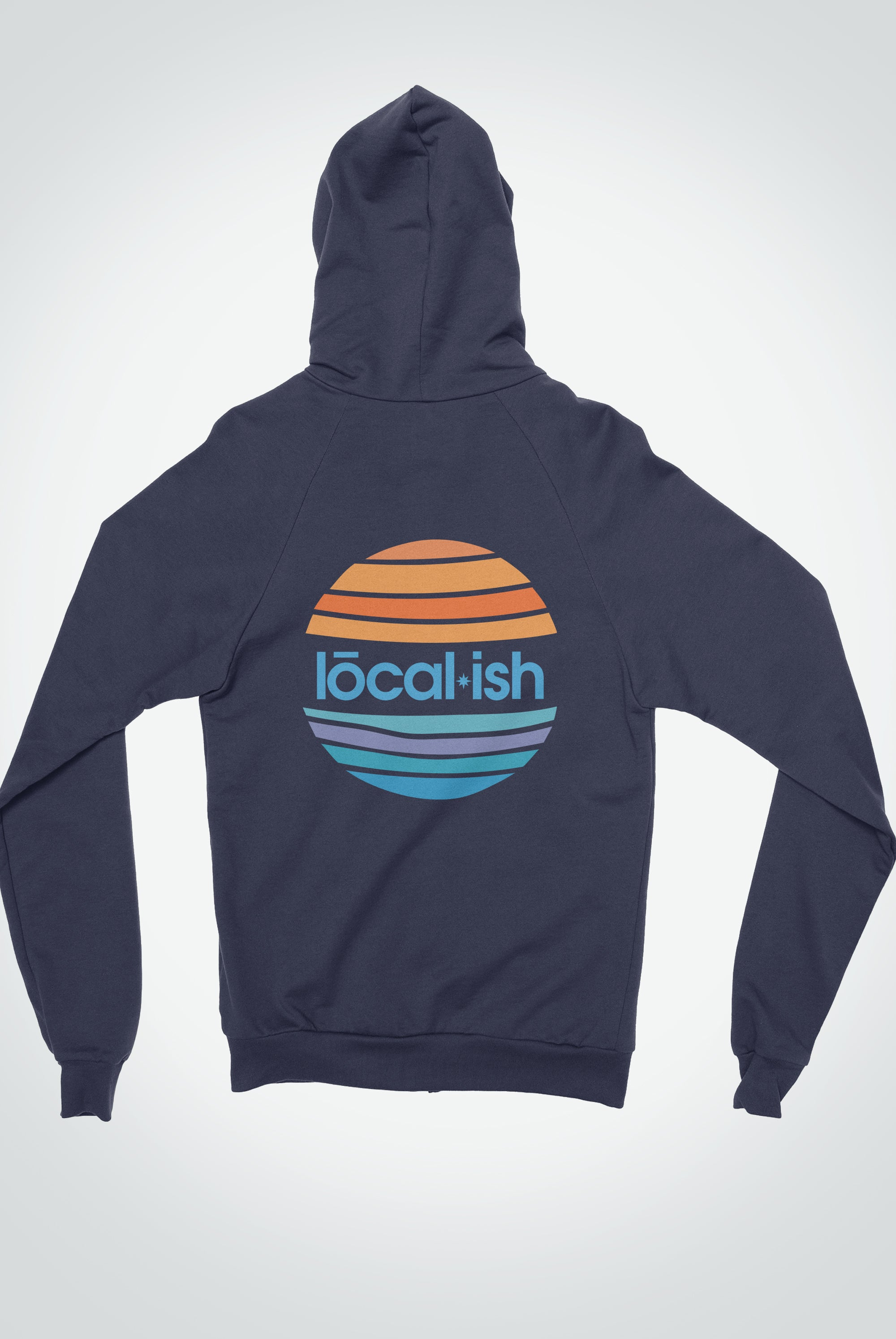 the traveler hoodie - navy