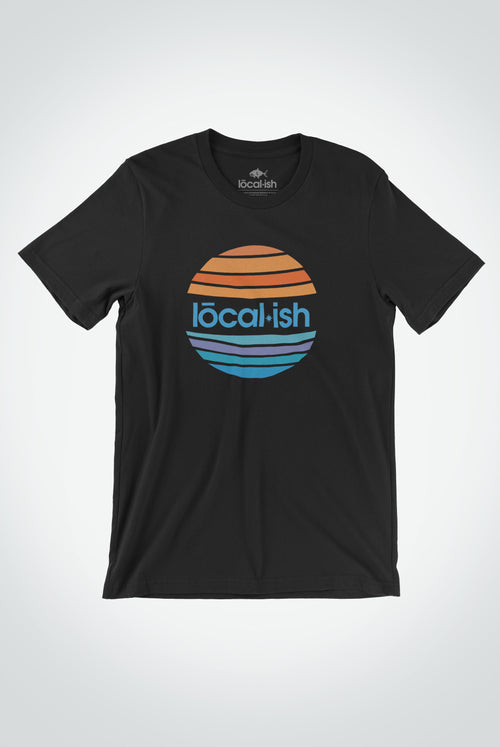 mens global tee - black