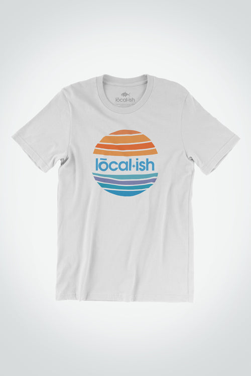 mens global tee - white