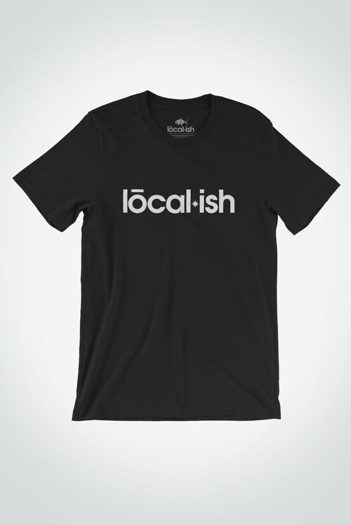 Localish Men's Localish Tee - Black Tee for men