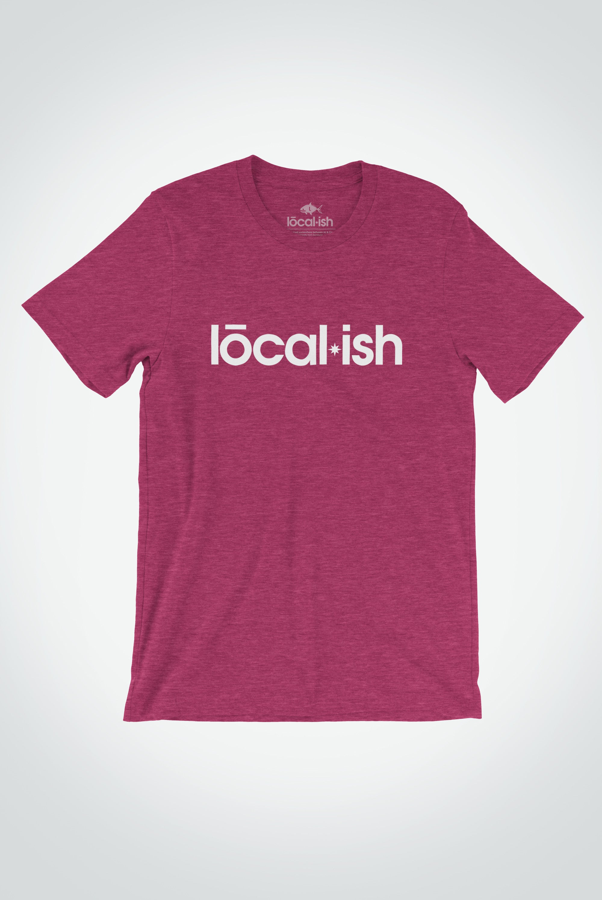 Localish Men's Localish Tee - Raspberry Surf T Shirt