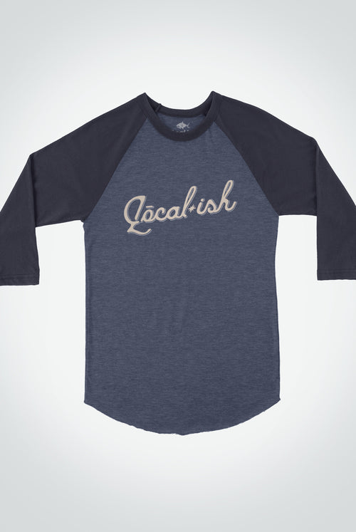 Localish Men's Extra Innings Tee - Heather Navy