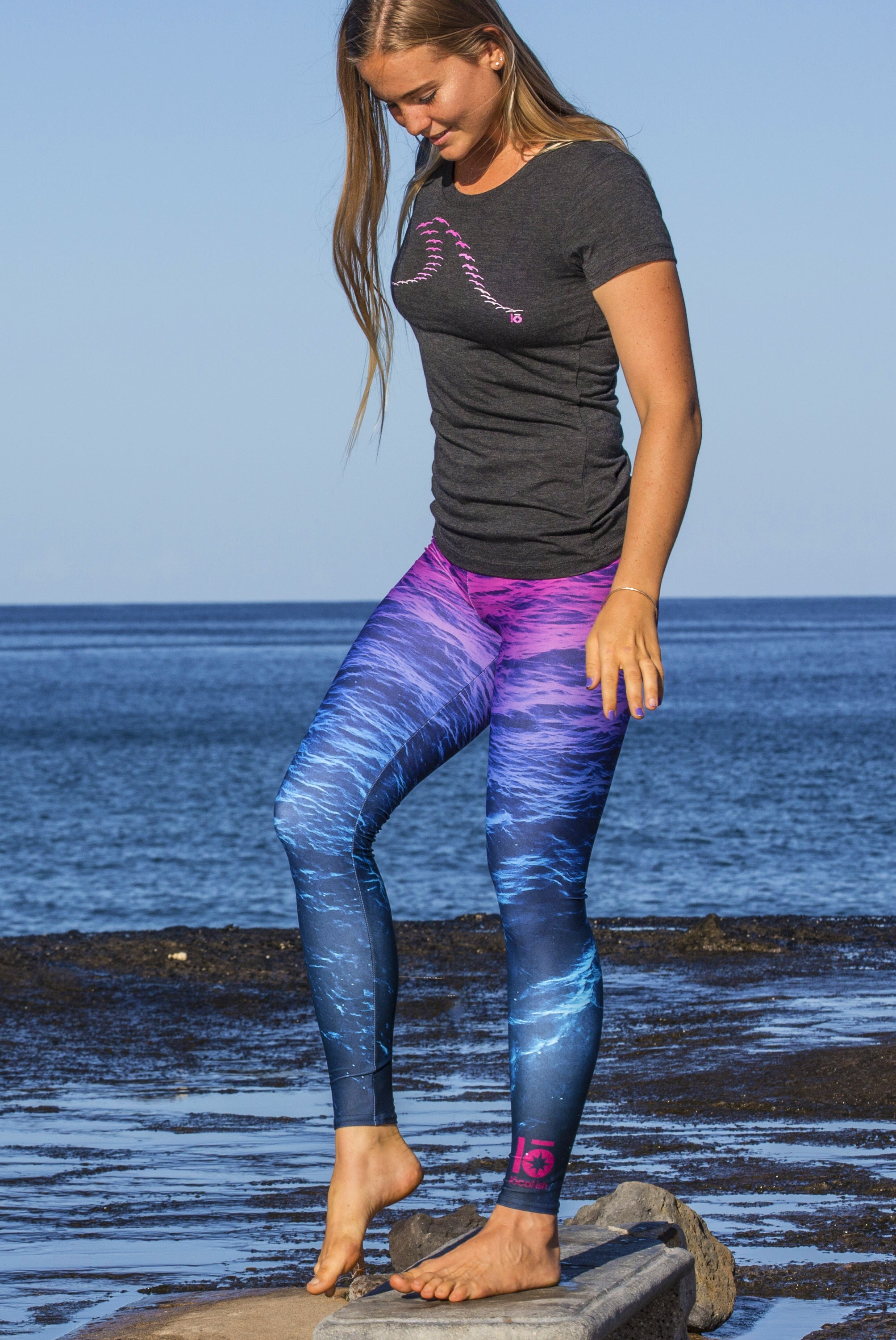 Water Texture Leggings