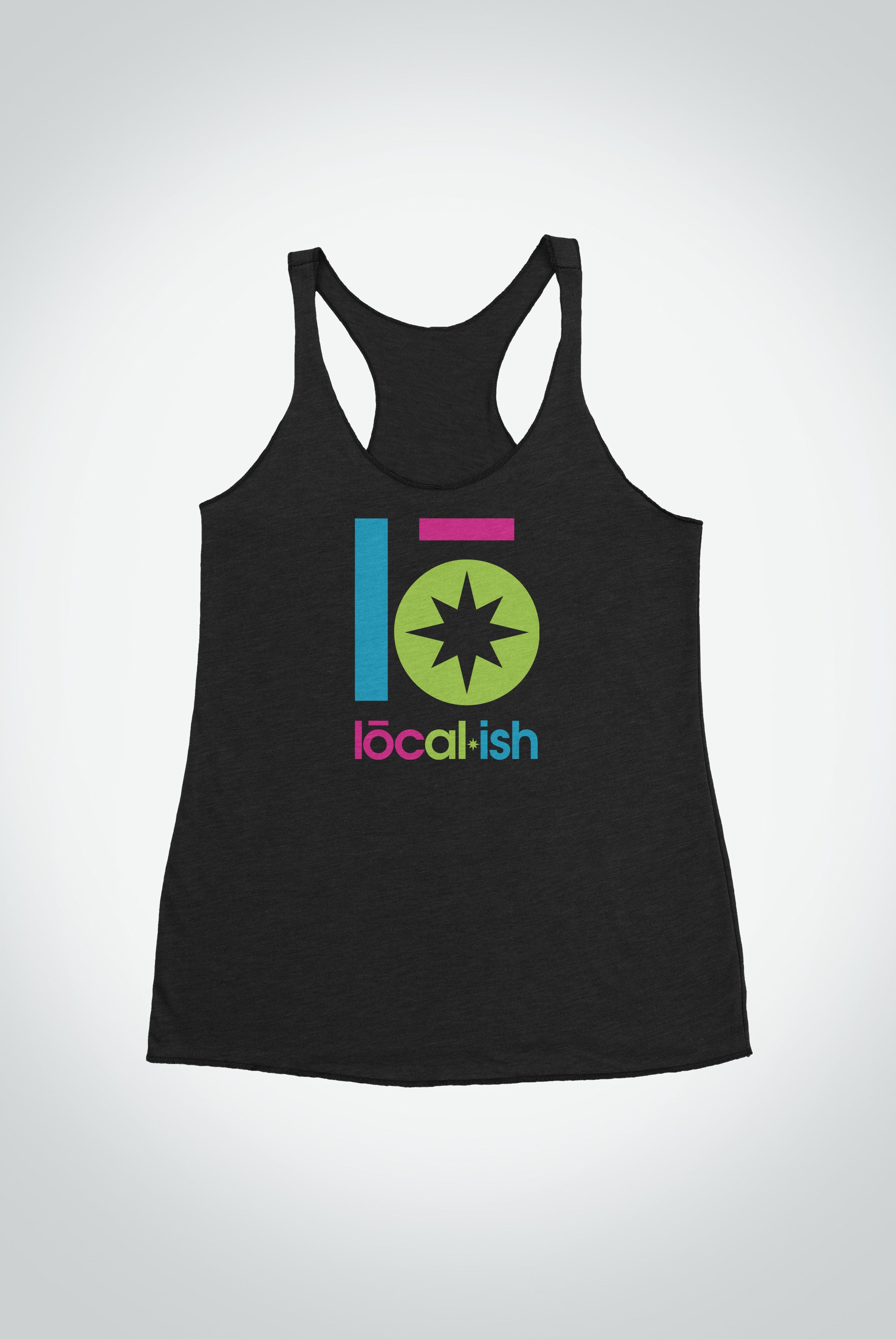 Localish Women's Lo Star Tank - Neon Surt tanks