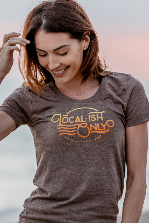 womens localish only tee