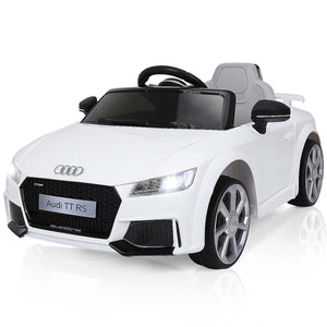 12V Kids Electric Ride-On Licensed Car Audi TT RS