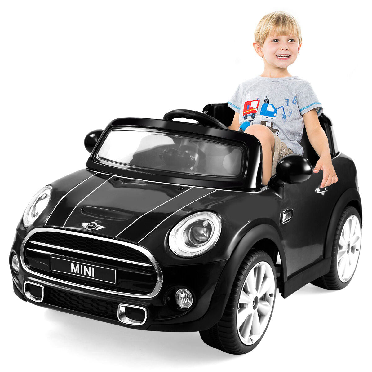 12V Kids Electric Ride-On Car Licensed Mini Hatch