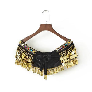 Belly Dance Coin Crop Top or Bottom