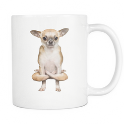 Yoga Doggy Mug