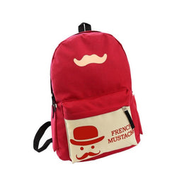 Mini Backpack French Mustache