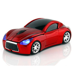 Sports Car Optical Wireless Mouse