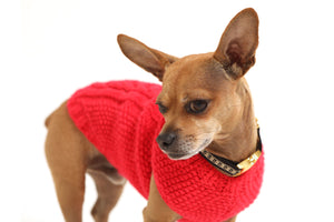Casa de Micho Solid Knit Sweater