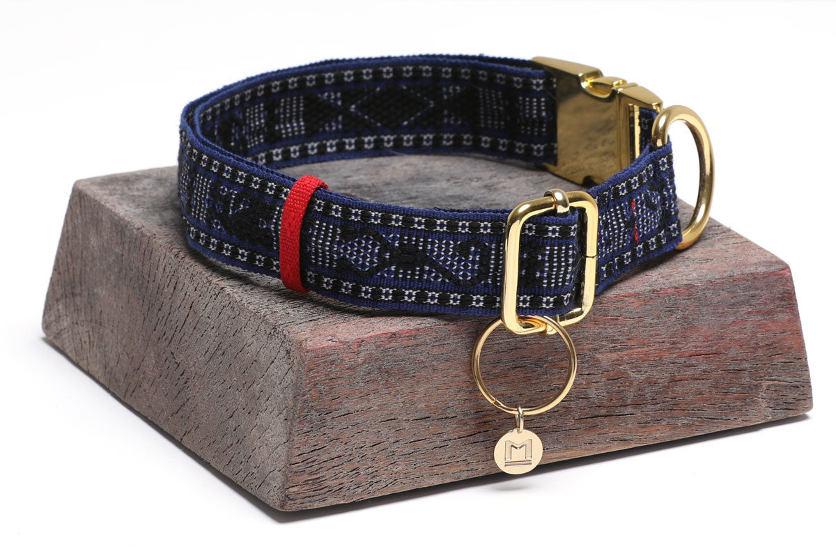 Artisan Woven Dog Collar Large
