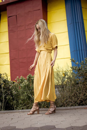 Modest beautiful long summer dress for women
