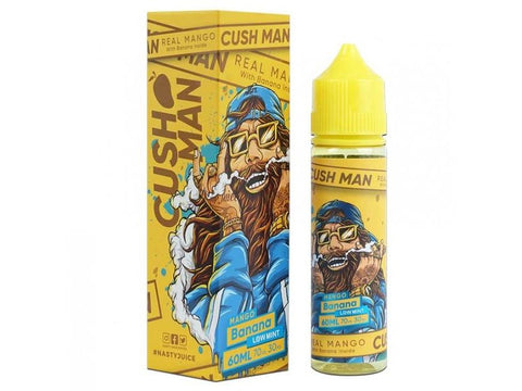 Nasty Juice Cush Man Mango Banana 60 ML-E-juice-Cloud 61 Vapor