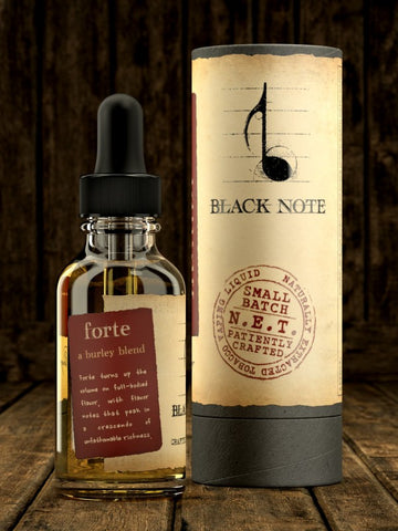 Forte by Black Note-E-juice-Cloud 61 Vapor