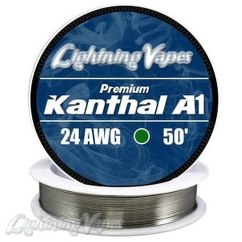 KANTHAL A1 WIRE 24 GAUGE (100')-Accessories-Cloud 61 Vapor