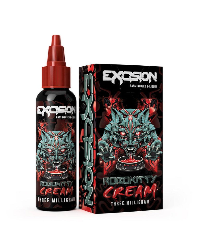 Robokitty Cream by Excision-E-juice-Cloud 61 Vapor