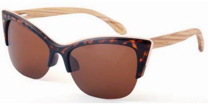 Cheetah Bamboo Sunglasses