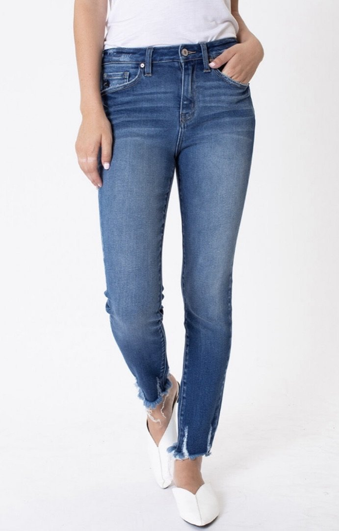Dani KanCan High Rise Skinny Jeans - Kiss My Chic Boutique