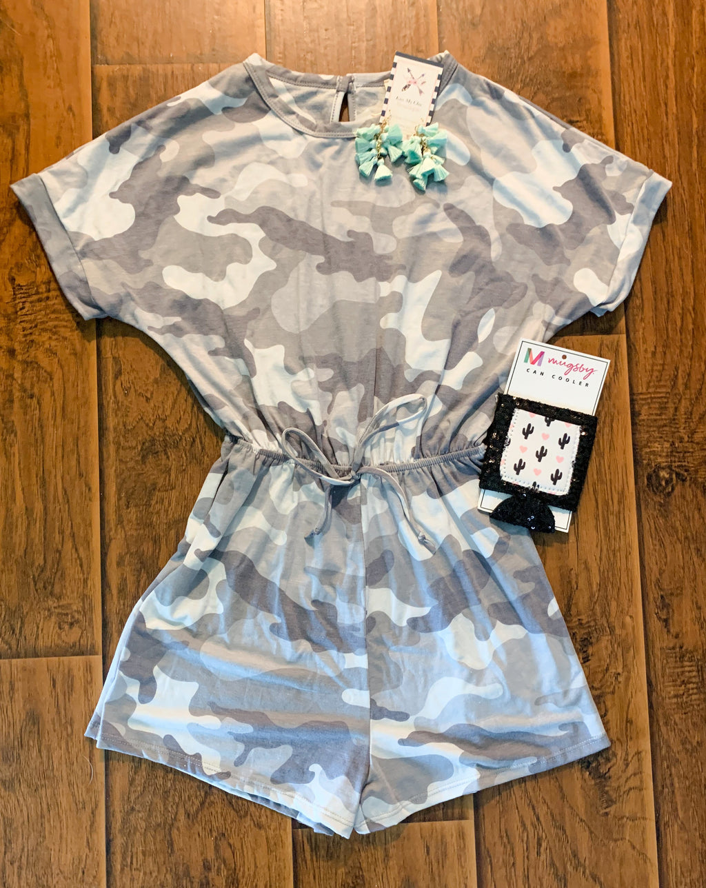 Head in the Clouds Romper - Kiss My Chic Boutique