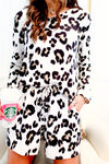 Long Sleeve Leopard Lounge Set -  kiss-my-chic-boutique.myshopify.com
