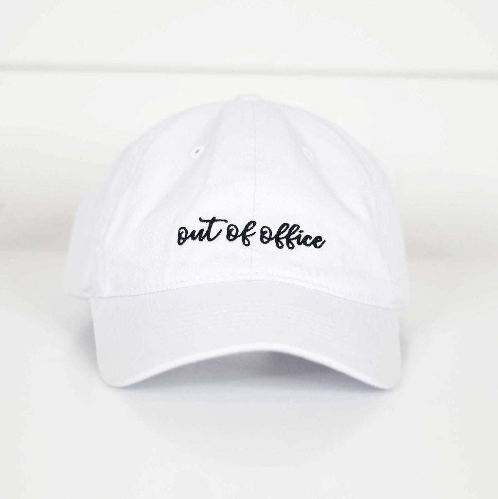 Out of Office Hat - Kiss My Chic Boutique