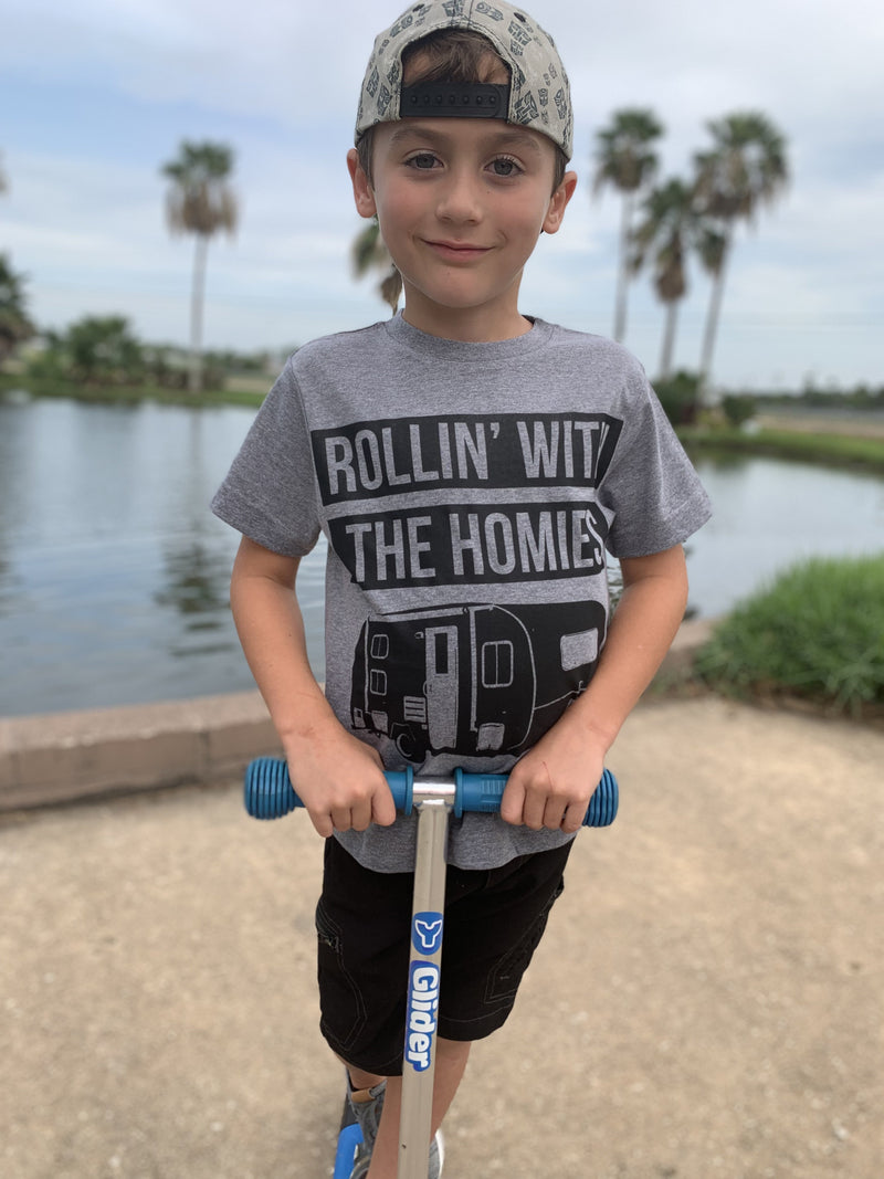 Rollin' with the Homies Kids T-Shirt - Kiss My Chic Boutique