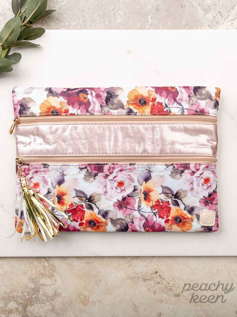 Secret Garden Clutch - Kiss My Chic Boutique