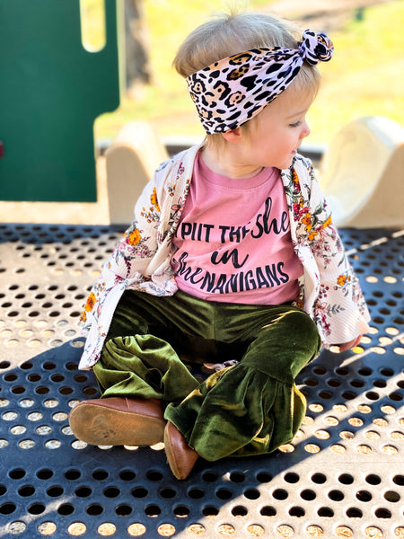 Shenanigans Kid's T-Shirt - Kiss My Chic Boutique