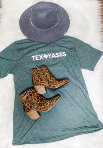 Tex-Yasss T-Shirt - Kiss My Chic Boutique