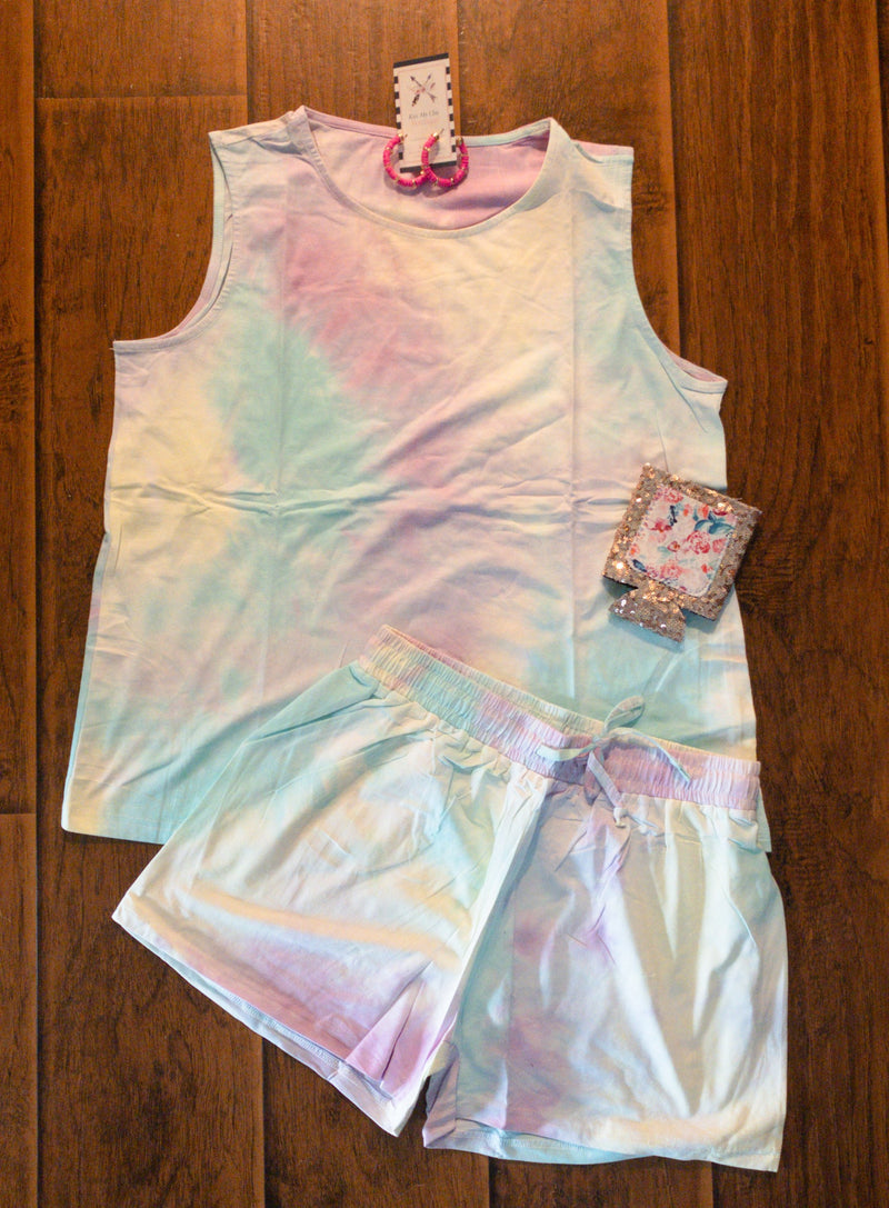 Tie Dye Set -  kiss-my-chic-boutique.myshopify.com