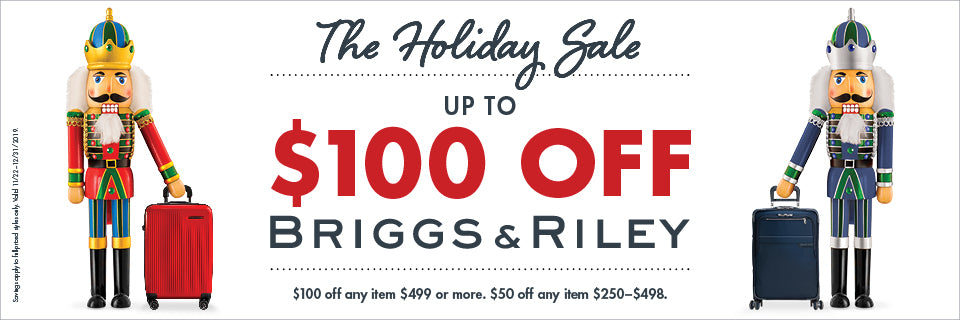 Briggs & Riley Holiday Sale at Luggagedesigners