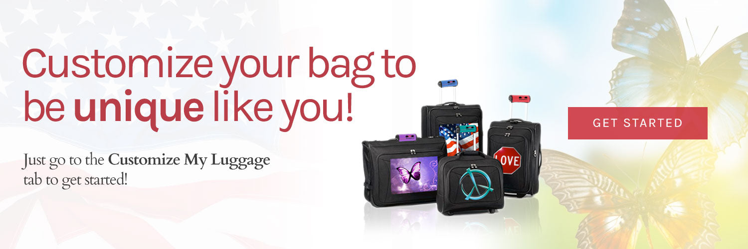 Customize your Luggage at Luggagedesigners.com