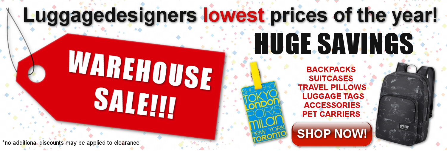 Warehouse Sale at Luggagedesigners