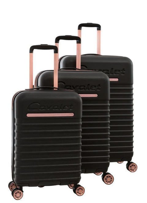 Cavalet Pasedena 3pc Spinner Luggage Set