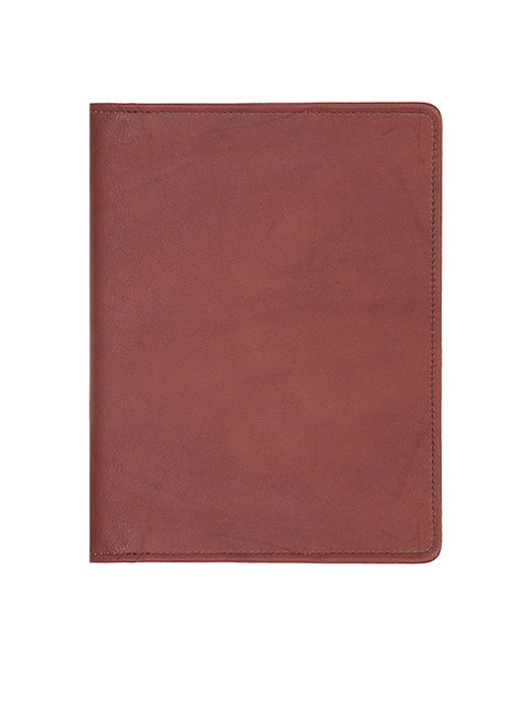 Scully Soft Plonge Leather desk size weekly planner