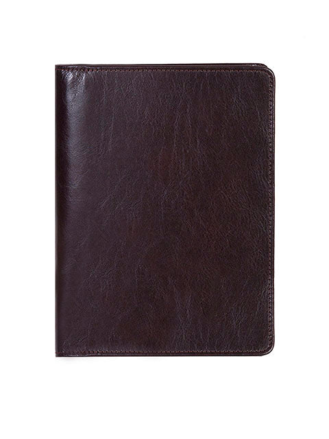 Scully Italian Leather ruled journal