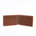 Boconi Bryant LTE Two Fold Money Clip in Mahogany and Heather