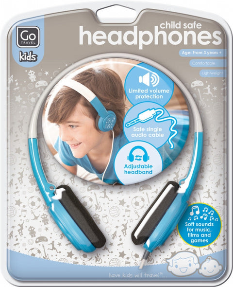 Go Travel Child Safe Headphones