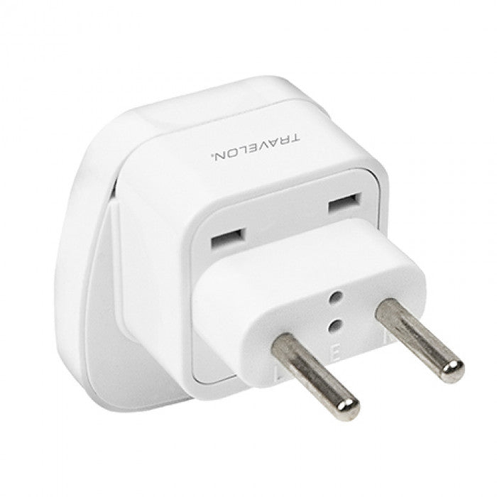 Travelon Europe Adapter Non-Grounded White