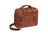 Mancini Arizona Double Compartment Zip Briefcase for 15.6'' Laptop
