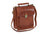 Mancini Arizona Unisex Bag With Back Organizer Brown