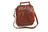 Mancini Arizona Large Unisex Day Bag Brown