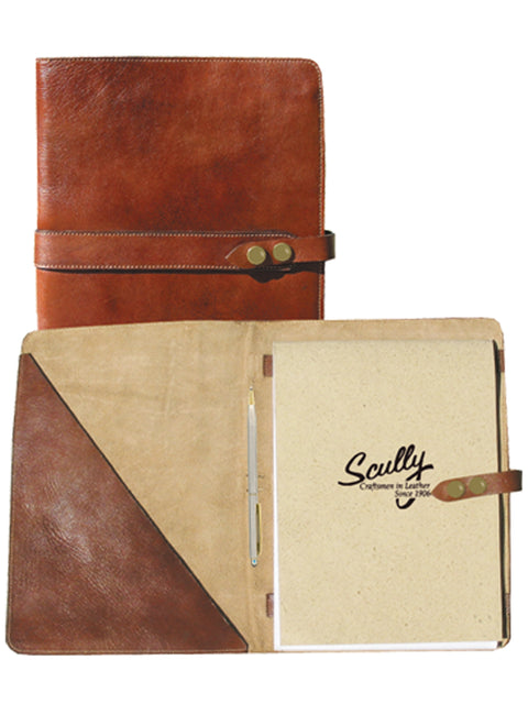 Scully Leather letter pad