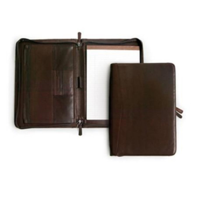 Osgoode Marley Zip File Leather Writing Folio