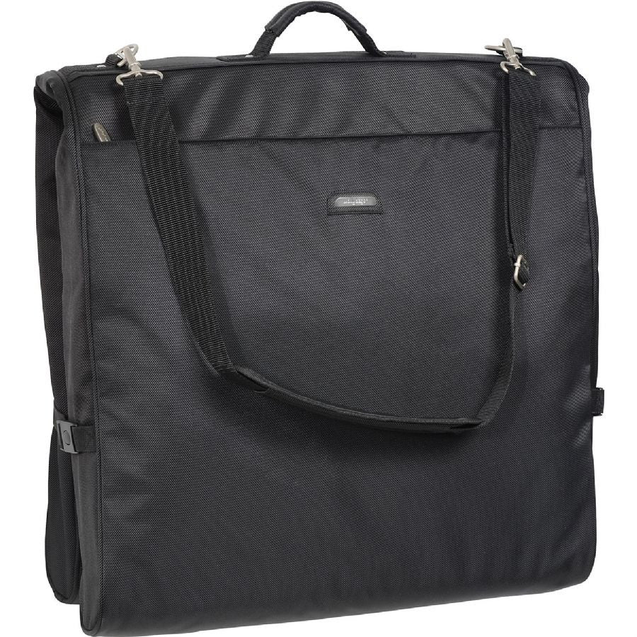 "WallyBags 45"" Framed Garment Bag Black"