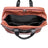"McKlein 21"" Leather Two-tone Dual-Compartment Laptop Carry-All Duffel"